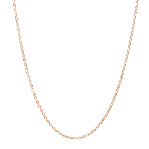 Rose Gold Plated Sterling Silver Cable Chain Wholesale Lots