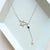 Sterling Silver Minimalist Star Drop Necklace Wholesale