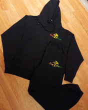 """Say Treees"" Rasta Vibes Logo Sweat Suit"