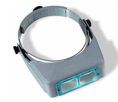OptiVisor Glass Binocular Magnifier