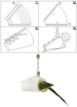 Bird Weighing Cones for Pesola Scales