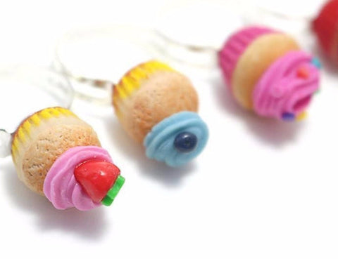 Cupcake Ring Collation (Pick One), Miniature Food Jewelry, Polymer Clay Food Jewelry