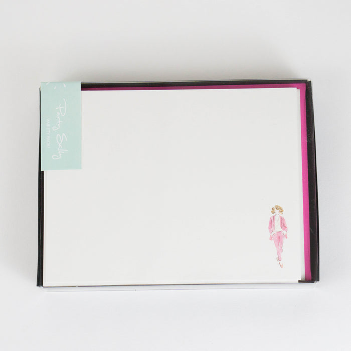 Pink Power Notecards