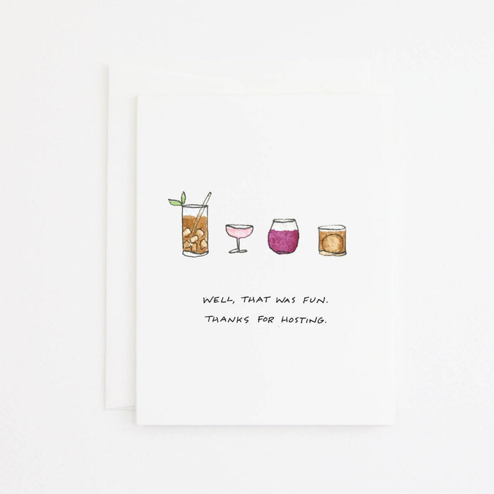 Cocktails Card