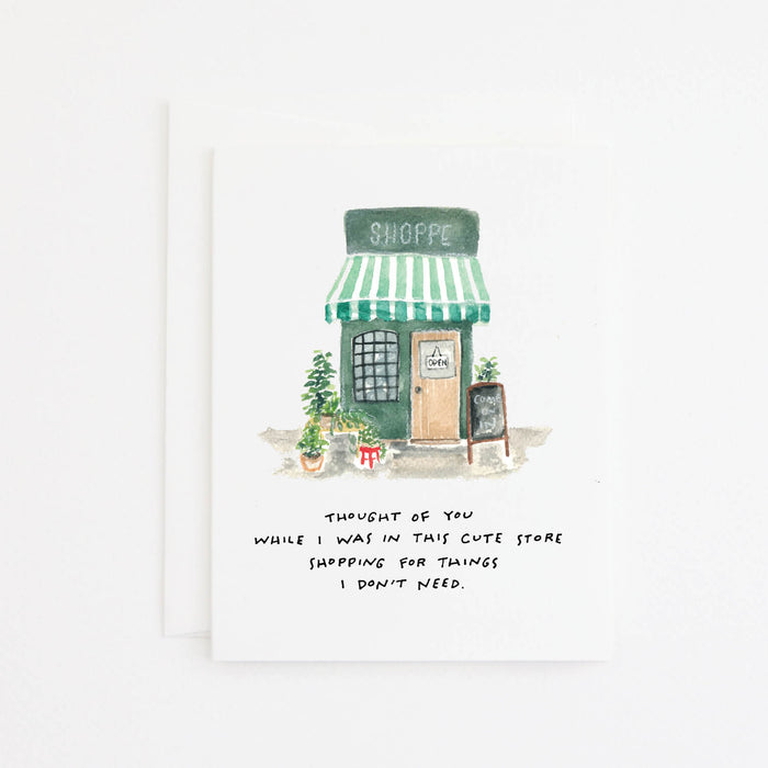 Cute Shop Card
