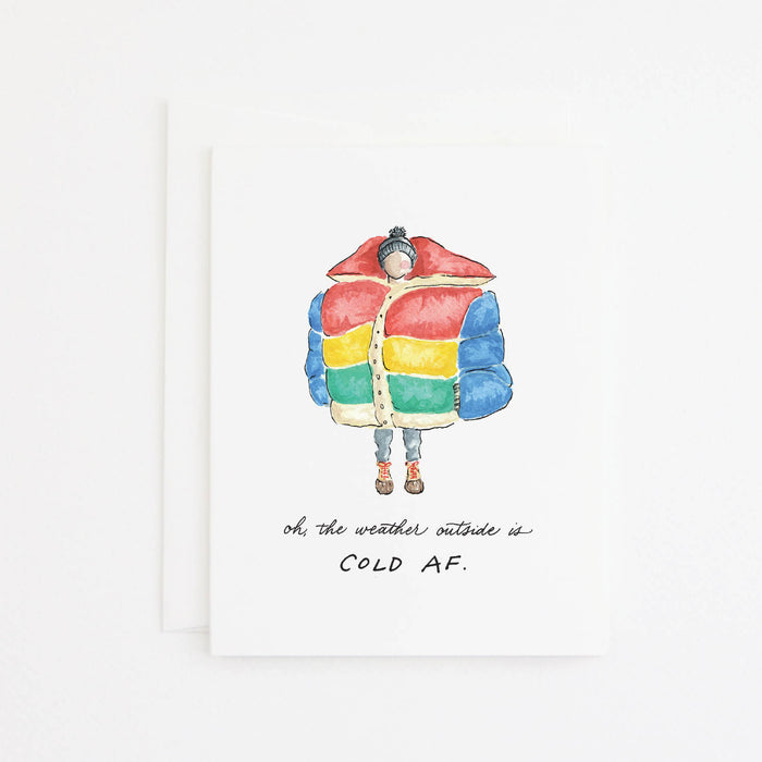 Giant Coat Card