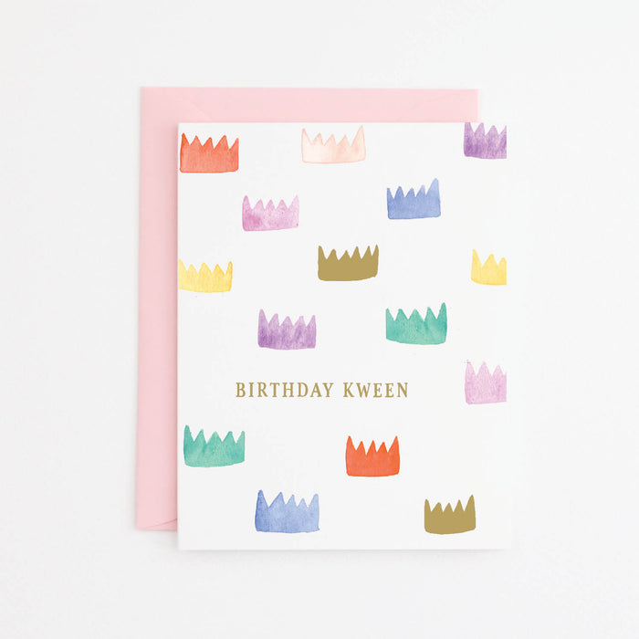 B'day Kween Card