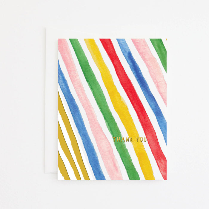 Summer Stripe Card