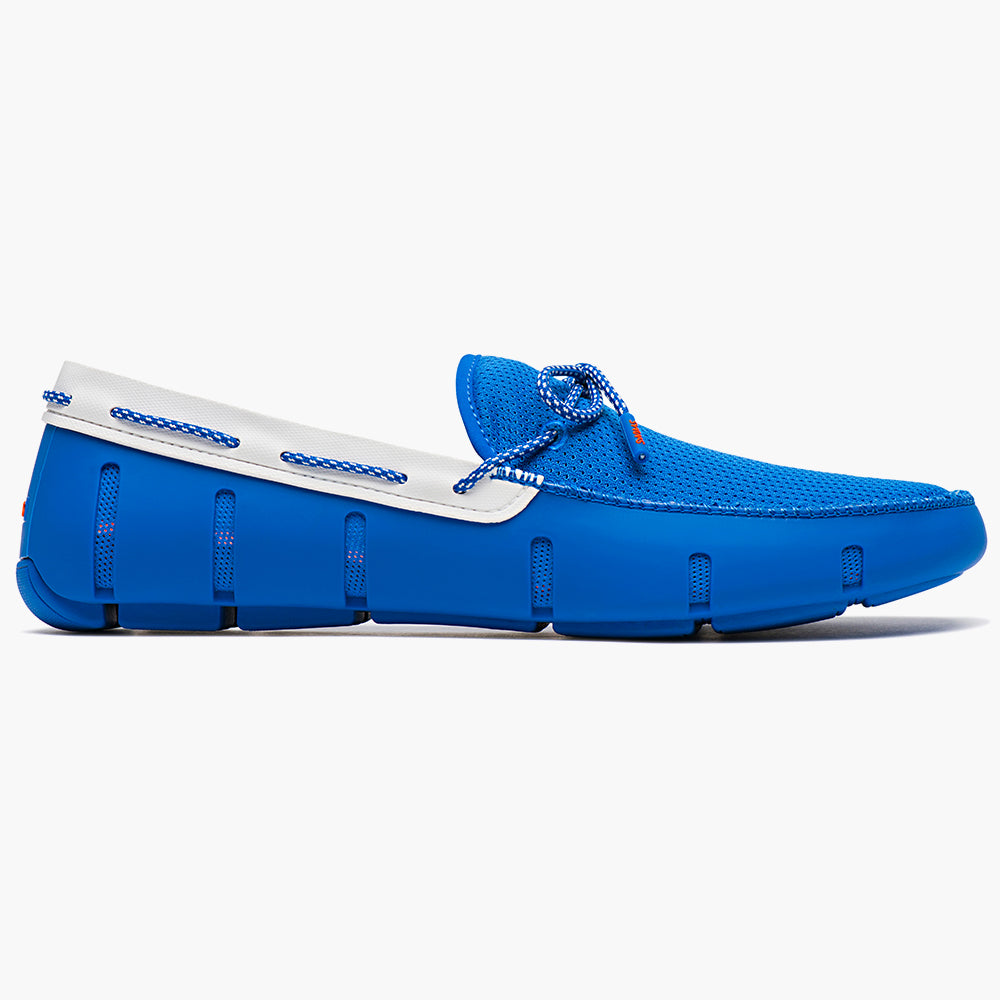 LACE FRONT LOAFER - BLITZ BLUE SPARKLE