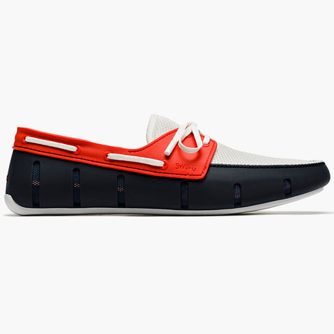SPORT LOAFER - NAVY/RED