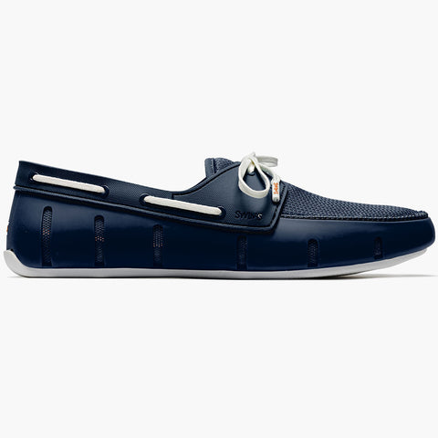 SPORT LOAFER - NAVY/WHITE