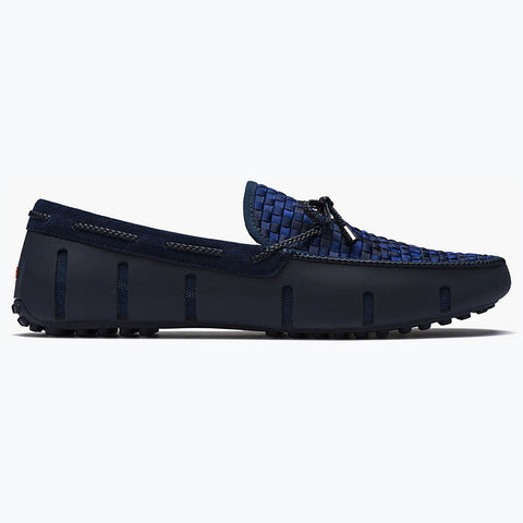LACE LOAFER WOVEN - NAVY FADE