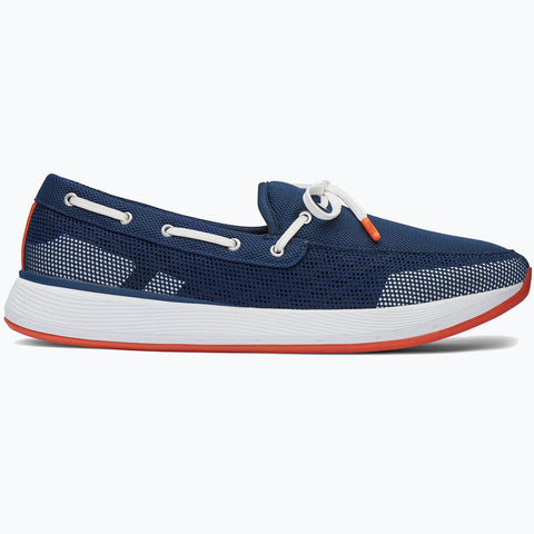 BREEZE WAVE LACE - NAVY/WHITE