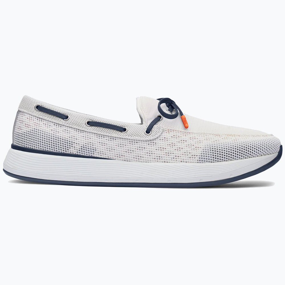 BREEZE WAVE LACE - WHITE/NAVY