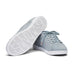BREEZE TENNIS LEATHER - QUARRY/WHITE