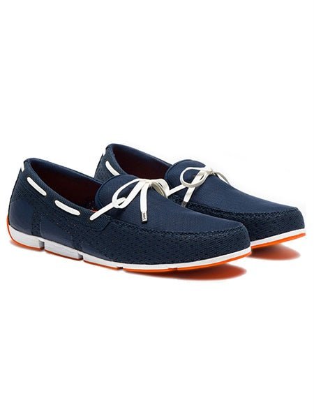 LACE LOAFER DRIVER - GRAY