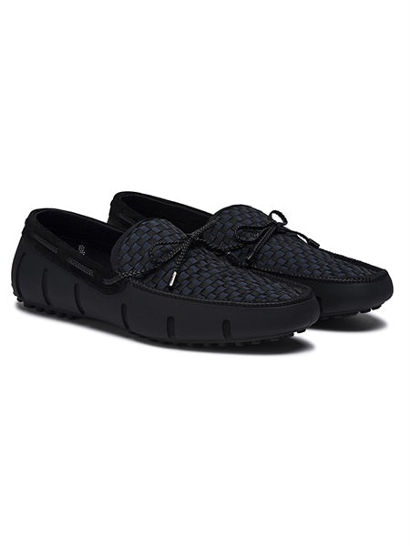LACE LOAFER WOVEN - SLATE