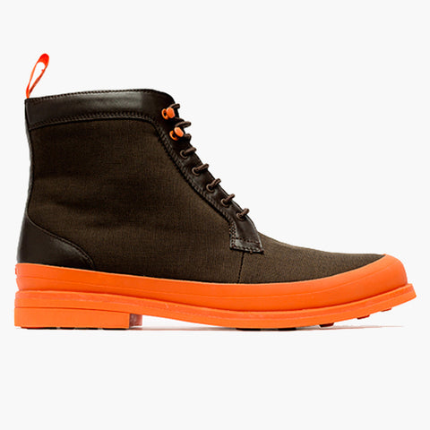 HARRY BOOT - BROWN/ORANGE