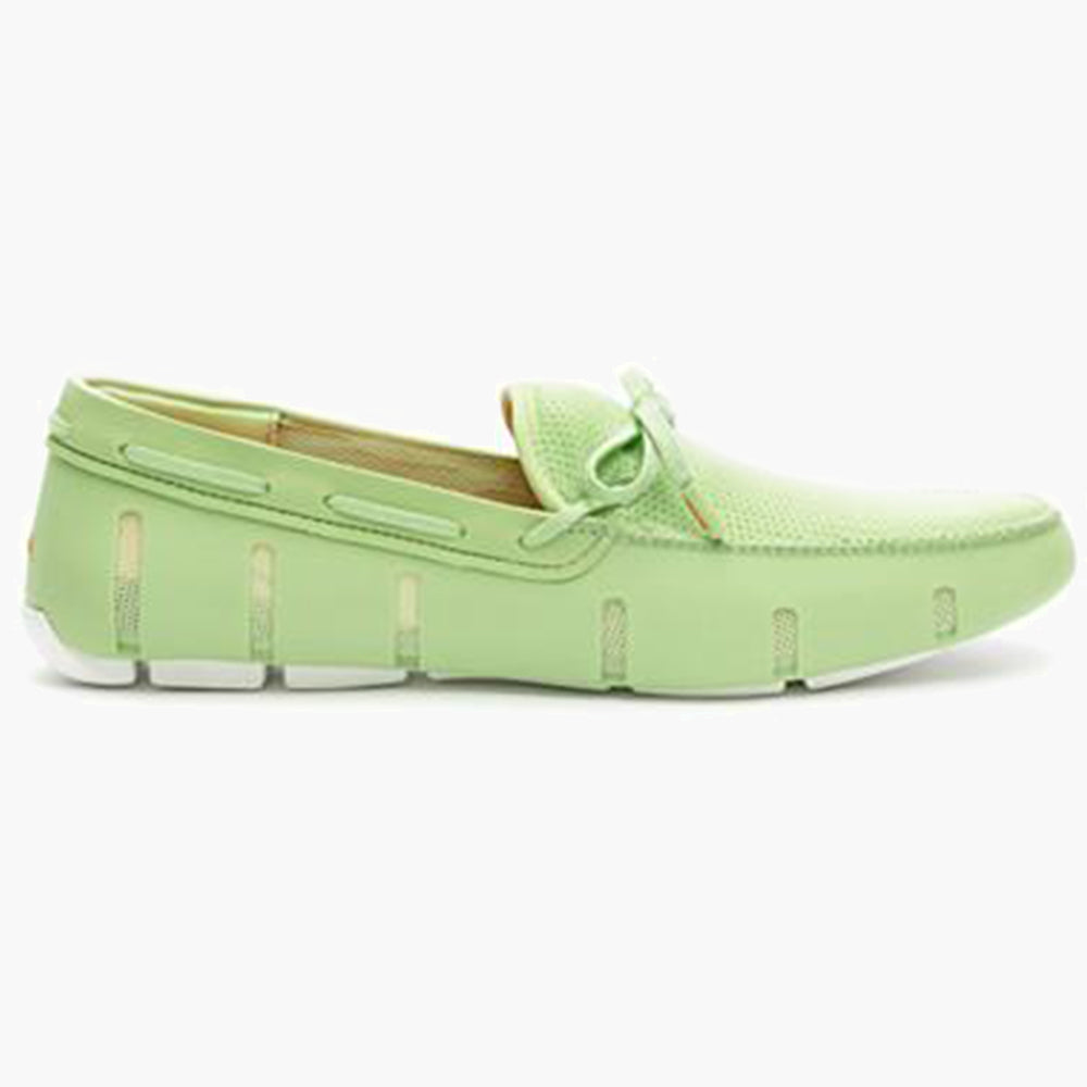 EL LACE FRONT LOAFER-GREEN/WHITE