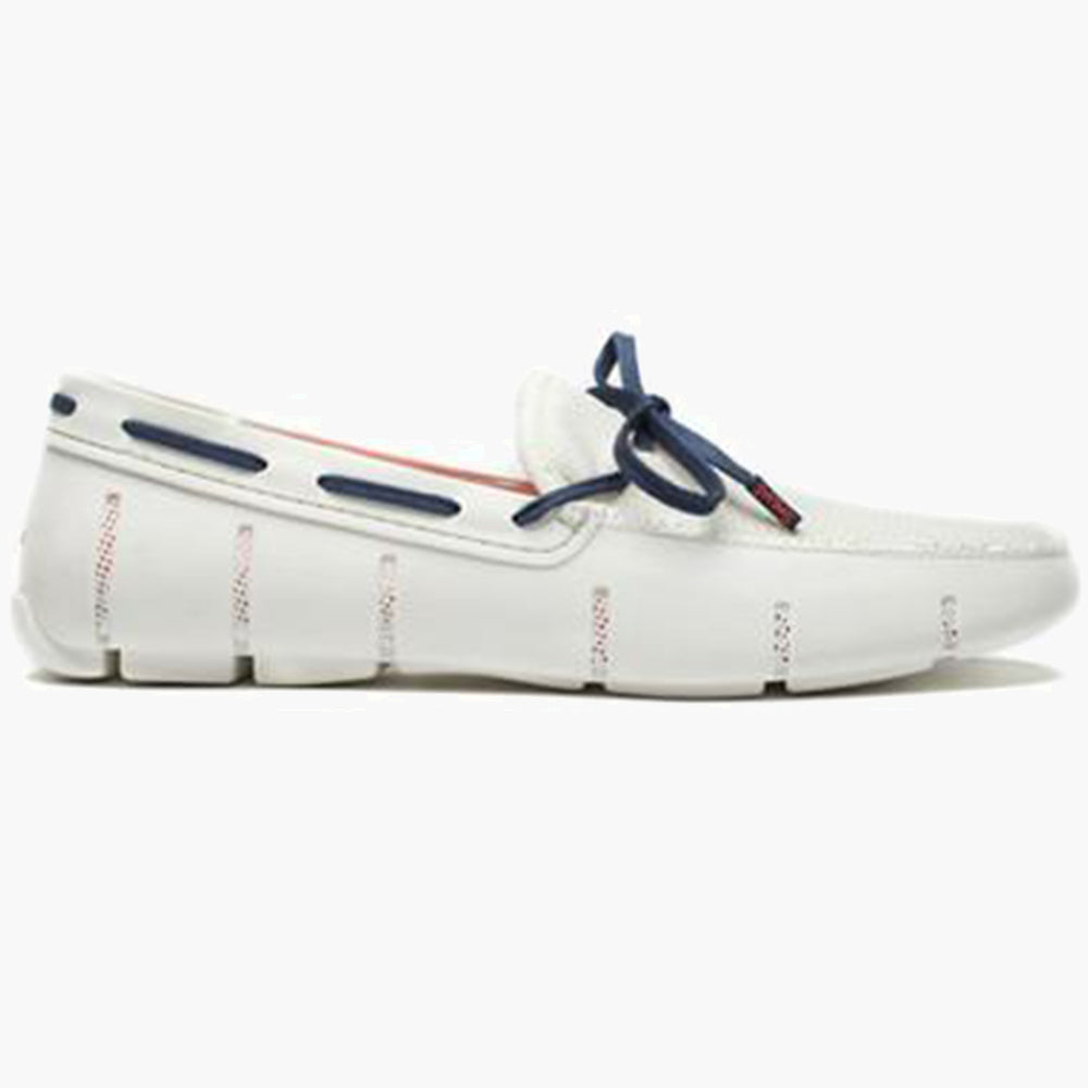 EL LACE FRONT LOAFER-OPTICAL WHITE