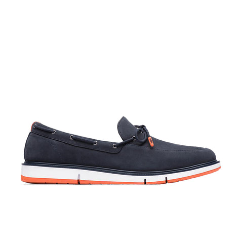 MOTION LACE LOAFER - NAVY/ORANGE