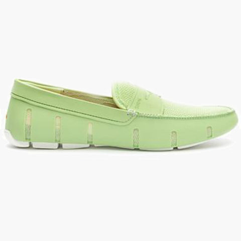 EL PENNY LOAFER-GREEN/WHITE