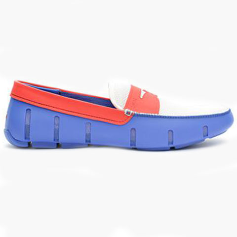 EL PENNY LOAFER-BLUE/RED