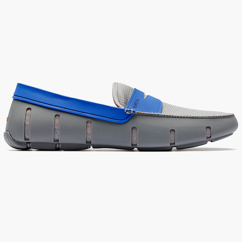 EL PENNY LOAFER-GRAY/BLUE