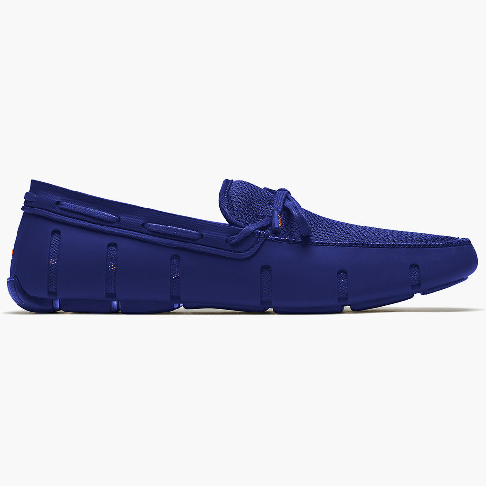 LACE FRONT LOAFER - ROYAL