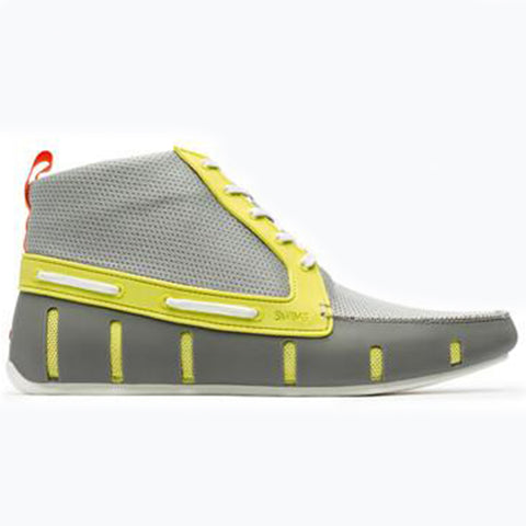 SPORT LOAFER HIGH TOP - LIME/GRAY
