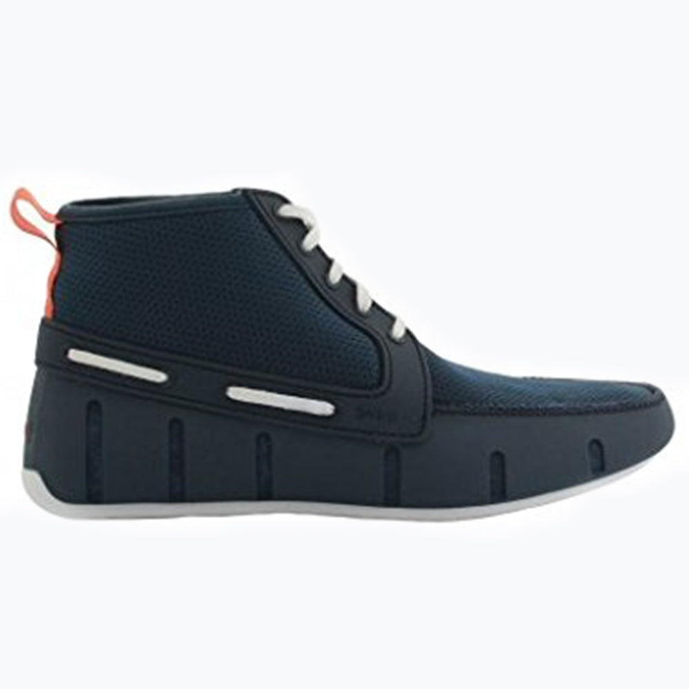 SPORT LOAFER HIGH TOP - NAVY/WHITE