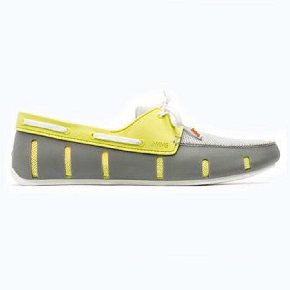 SPORT LOAFER - LIME/GRAY
