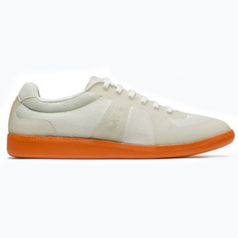 LUCA SNEAKER - STONE/ORANGE