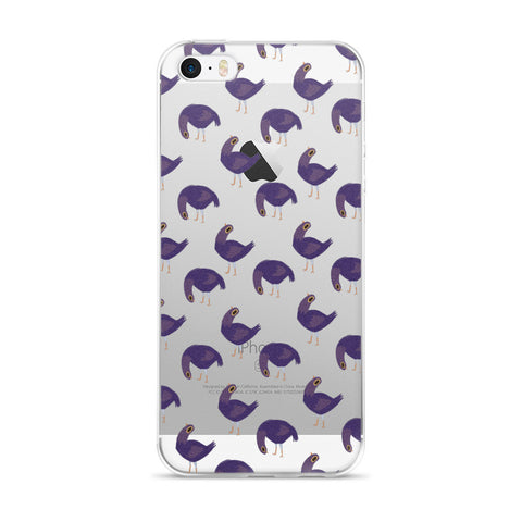 Trash Doves FLOPPY DOVE iPhone 5/5s/Se, 6/6s, 6/6s Plus Case