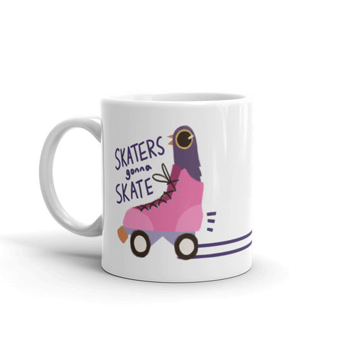Trash Doves SKATER DOVE Mug