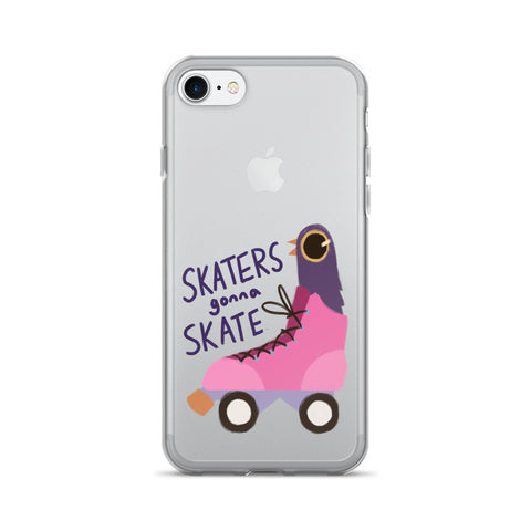 Trash Doves SKATER DOVE iPhone 7/7 Plus Case