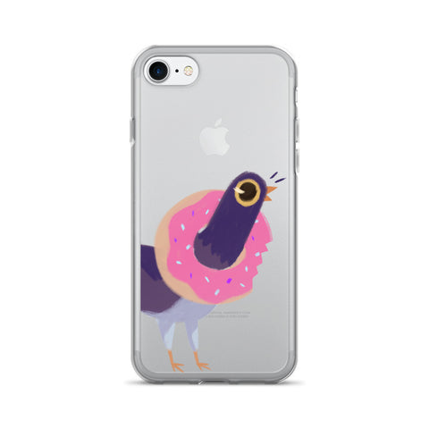 Trash Doves DONUT DOVE iPhone 7/7 Plus Case