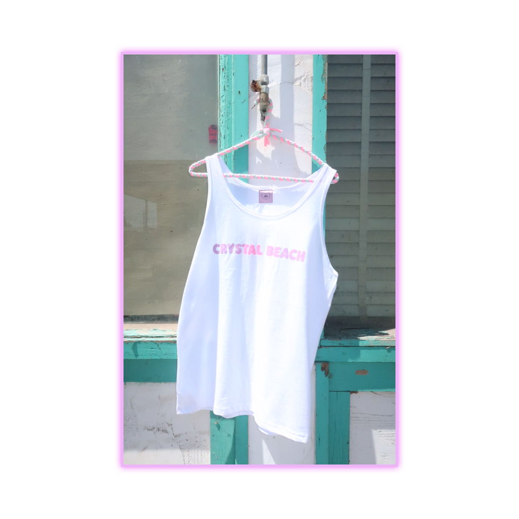 CRYSTAL BEACH SUMMER TANK