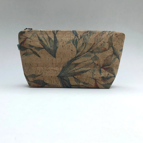 Multileaf Cork Big Pouch
