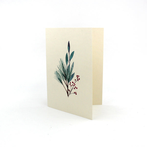 Holiday Sampler Blank Note Cards