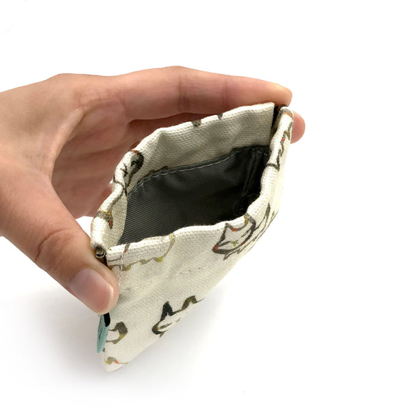 Dendrites Coin Pouch