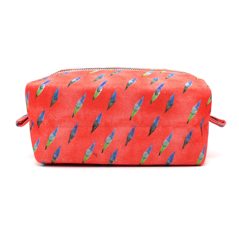 Brushy Dopp Kit: Coral