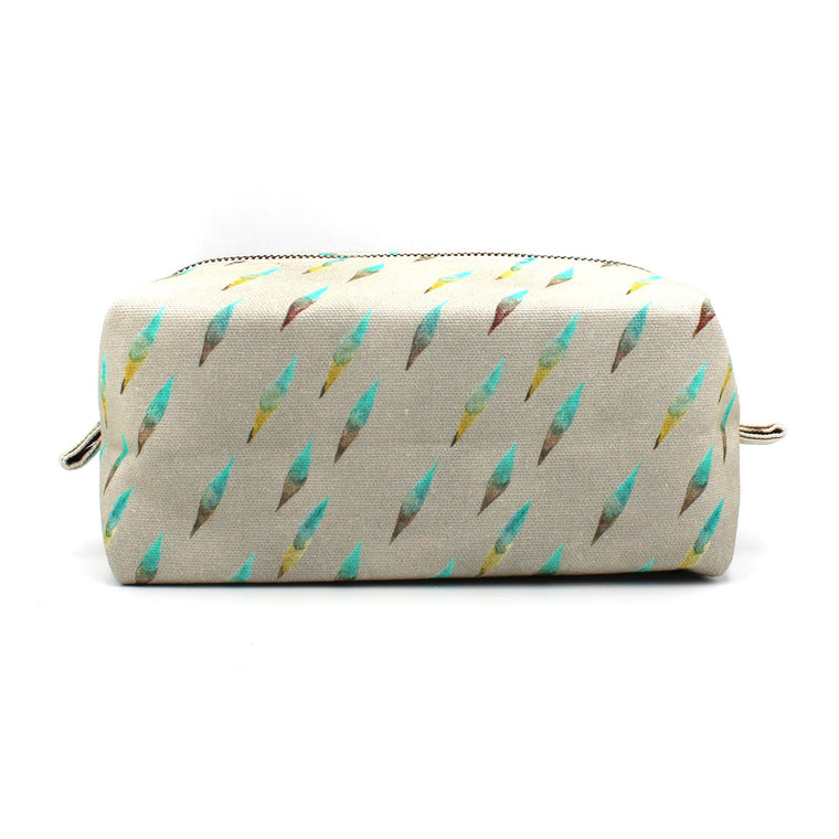 Brushy Dopp Kit: Gray