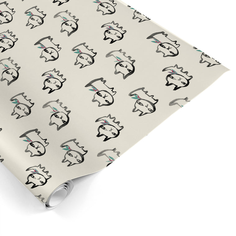 Holiday Rufus Gift Wrap