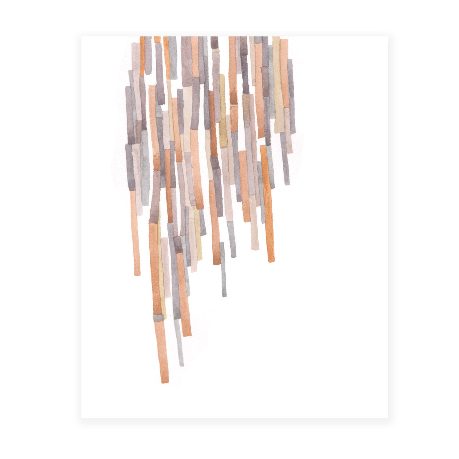 Matchsticks 8x10 Art Print
