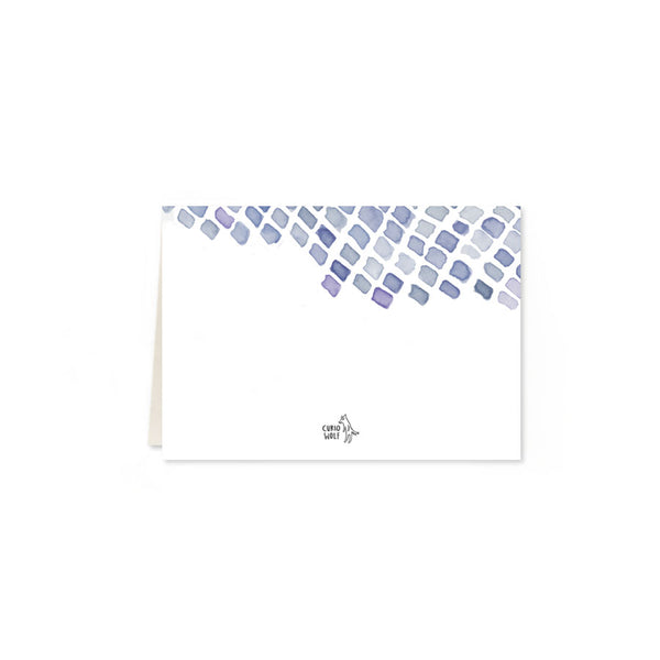 Mesh Folded Note Cards
