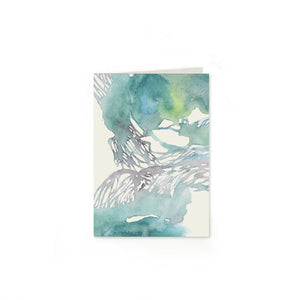 Waves Folded Note Cards