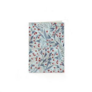 Winter Floral Folded Note Cards