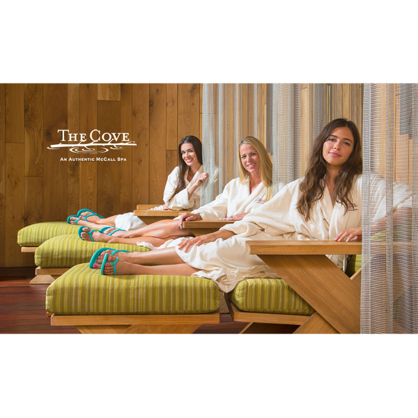The Cove - Vintage McCall Massage (60 min.) + Cove Pedicure Gift Card