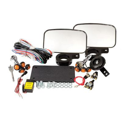 Tusk UTV Street Legal Horn and Light Kit - POLARIS